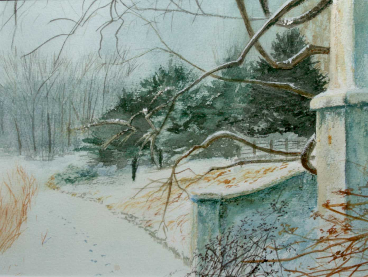 Botanic-Gardens---Winter-11-x14-inches