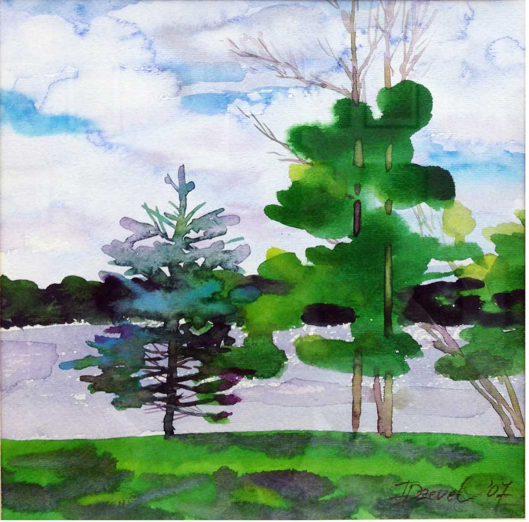 Irina_Dzevel_Silver-Lake_watercolor-1